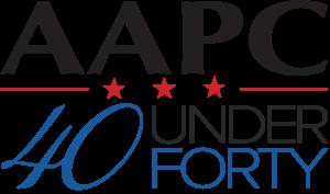 aapc 40 under 40 logo