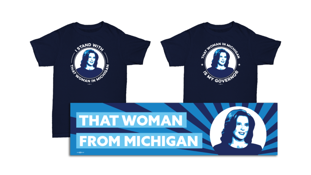 that woman from michigan merch